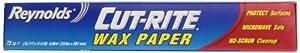 Cut-Rite Wax Paper, Clear