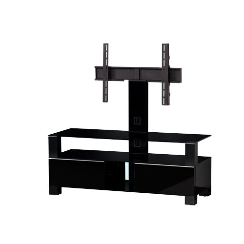 Sonorous Mood Cantilever TV Unit for Up to 50 inch TVs - Piano Black