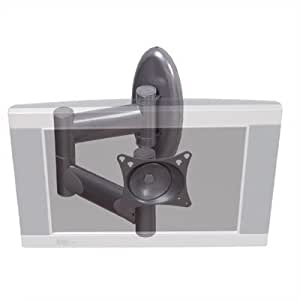 """Articulating Swingout Arm for LCD Displays (Up to 37"""" Screens) Color: Silver"""