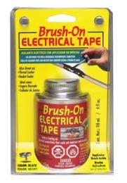 North American Bot58Tri Red Brush-On Electrical Tape - 4 Fl. Oz.