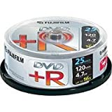 Fujifilm DVD+R X 25 Spindle (4.7GB 16X)