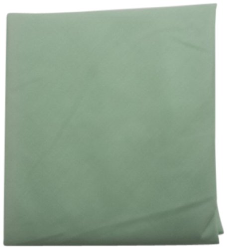 Baby Doll Solid Round Crib Sheet, Mint front-754704
