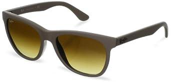 (超值)雷朋Ray-Ban 0RB4184 Square Sunglasses时尚小凯子褐色渐变太阳镜 $78.73