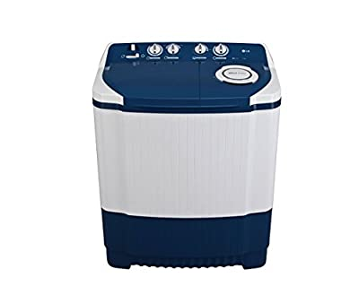 LG P7556R3F Semi-automatic Washing Machine (6.5 Kg, Dark Blue)