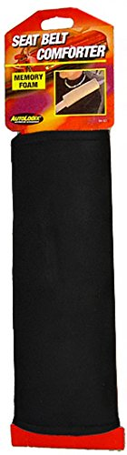 Memory Foam Seat Belt Comforter - Black (Seat Belt Comforter compare prices)
