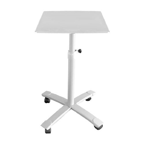 Pyle Prjtps35 Universal Platform Projector Stand/Trolley With Height, Angle, Tilt And Rolling Wheel Base