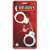 Die Cast Metal Toy Handcuffs By Parris Manufacturing (Includes 2 keys)