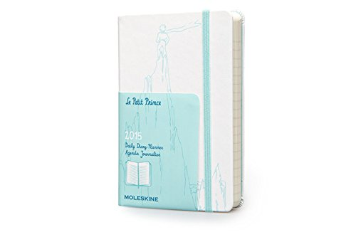 Moleskine 2015 Le Petit Prince Limited Edition Daily Planner, 12 Month, Pocket, White, Hard Cover (3.5 x 5.5) (Moleskine Petit Prince)