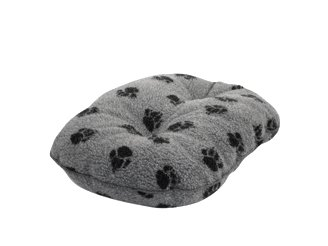Danish Design Dog Bed Sherpa Fleece Mattress Grey 61cm
