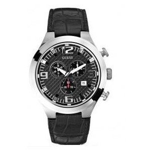 Buy Cheap GUESS CHRONOGRAPH DATE LEATHER BAND MENS WATCH ...