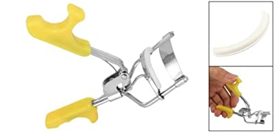 Best Cheap Deal for Mini Eyelash Eye Lash Eyelashes Curler Curl Yellow New by Rosallini - Free 2 Day Shipping Available