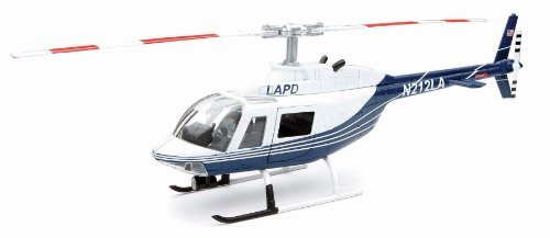 BELL 206 JETRANGER LAPD Helicopter Diecast by New Ray