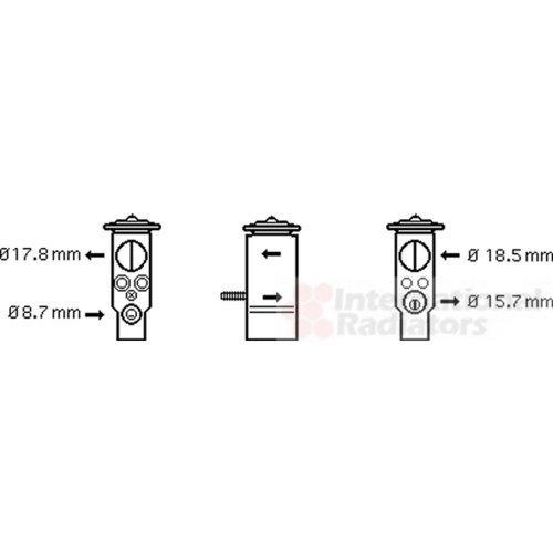 NK 29001005 Expansionsventil, Klimaanlage