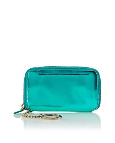GRAPHIC IMAGE Women's Small Zip Case, Aqua