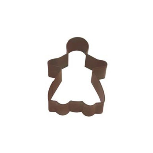 Dress My Cupcake DMC41CC1108/Z Gingerbread Girl Cookie Cutter, 3.75-Inch, Brown