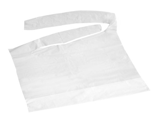 Disposable Plastic Bibs with Crumb Catcher (500-case)