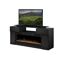 "Concord 73"" TV Stand with Electric Fireplace by Dimplex"