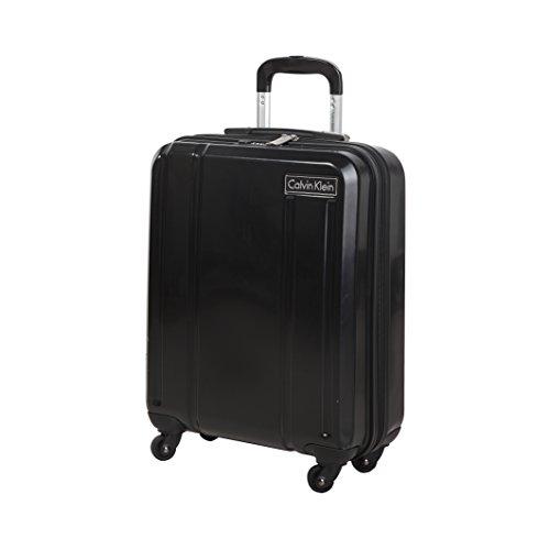Calvin Klein Valigie Trolley S 4 Wheels, 33 Litri, Black