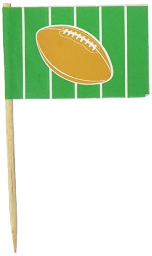 Beistle 60127 50-Pack Football Picks for Parties, 2-1/2-Inch (Football Party Picks compare prices)