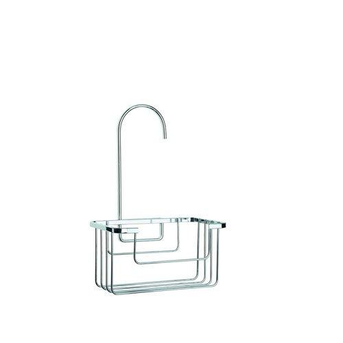 croydex-chrome-plated-rust-free-mild-steel-shower-riser-rail-hook-over-caddy-silver