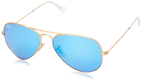 Ray Ban 3025 - Gafas de sol unisex, color matte gold