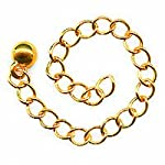 22K Gold Plated Chain Necklace Extender – 3 Inch (x10)