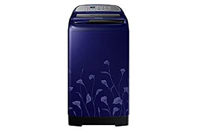 Samsung WA70H4020HL/TL Fully-automatic Top-loading Washing Machine (7 Kg, Lily Pattern Blue)