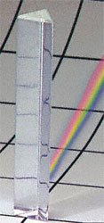 Equilateral Acrylic Prism 6''