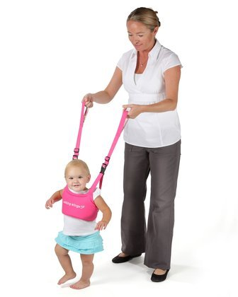 Imagen de UpSpring bebé Walking Wings Aprendiendo a caminar Asistente Pink
