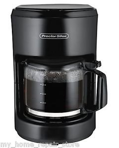FREE PRIORITY S&H ! BLACK PROCTOR SILEX 10 CUP AUTOMATIC DRIP COFFEE MAKER 48351 /&supplier-my_home_repair_store