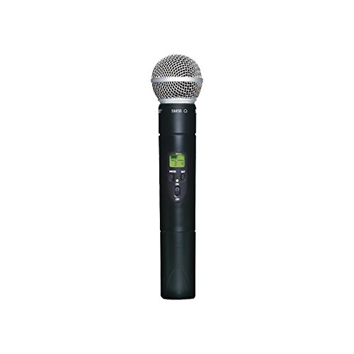 Shure Slx2/Sm58 Handheld Transmitter With Sm58 Microphone, G5