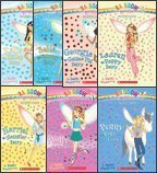 The Pet Fairies Complete Set, Books 1-7: Katie the Kitten Fairy, Bella the Bunny Fairy, Georgia the Guinea Pig Fairy, Lauren the Puppy Fairy, Harriet the Hamster Fairy, Molly the Goldfish Fairy, and Penny the Pony Fairy (Rainbow Magic)