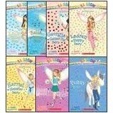 The Pet Fairies Complete Set, Books 1-7: Katie the Kitten Fairy, Bella the Bunny Fairy, Georgia the Guinea Pig Fairy, Lauren the Puppy Fairy, Harriet the Hamster Fairy, Molly the Goldfish Fairy, and Penny the Pony Fairy (Rainbow Magic) ~ Daisy Meadows