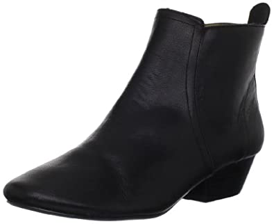 Nine West Women's Paperlane Ankle Boot,Black Leather,6 M US