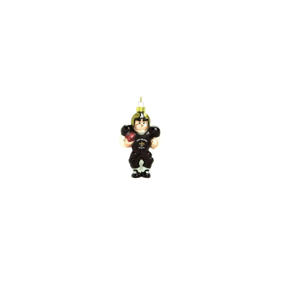 New Orleans Saints NFL Glass Player Ornament (5 Caucasian)