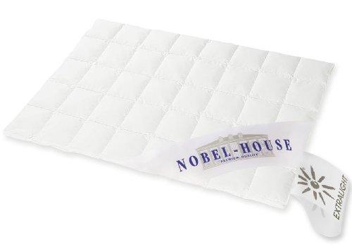 NOBEL HOUSE - Luxus Sommerdaunendecke 155x200cm