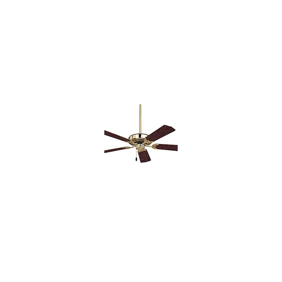 Emerson CF700PB Builder 5 Blade Ceiling Fan in Polished Brass