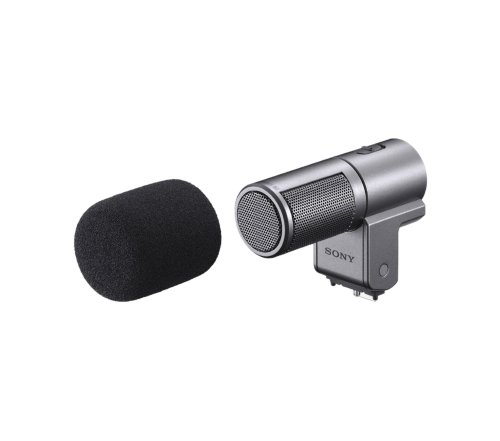 Sony Ecmsst1 Compact Stereo Microphone For Nex-3/Nex-5 Camera
