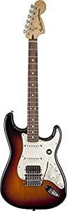 Fender Deluxe Triple Play Strat RW 3 Tone Sunburst Solid-Body Electric Guitar
