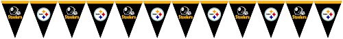 Creative Converting Pittsburgh Steelers Flag Banner Decoration from Creative Converting