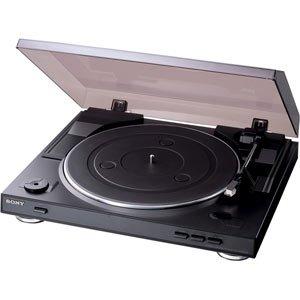 ソニー ステレオレコードプレーヤー PS-LX300USB