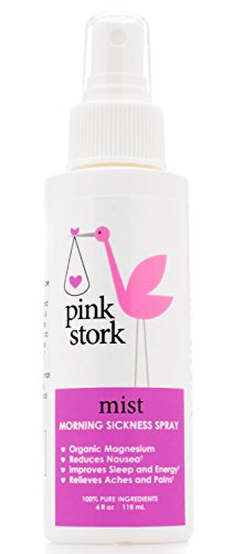 Pink-Stork-Mist-Magnesium-Spray-for-Morning-Sickness-Nausea-Relief-Promotes-Energy-Levels-Sleep-Quality-More-Reduce-Anxiety-and-Irritability-Organic-Dead-Sea-Magnesium-and-Purified-Water