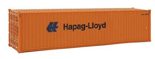 Walthers SceneMaster HC RS Hapag-Lyd Container, 40' (Model Shipping Container compare prices)