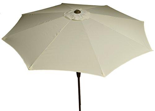 beo Sonnenschirme wasserabweisend ohne Standfuß Sonnenschutz, rund, Durchmesser 270 cm, beige