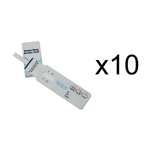 10 Single Panel Oxycodone Home Drug Test w/cassette 10 Pack (Oxy Codeine compare prices)