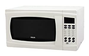 RCA RMW1112 1.1 Cubic Feet Microwave Oven, White by RCA