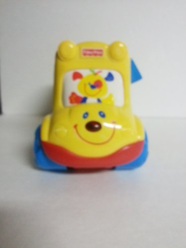 Fisher Price Smartronics Nursery Rhymes Bus Vintage 1996 By Mattel front-794361