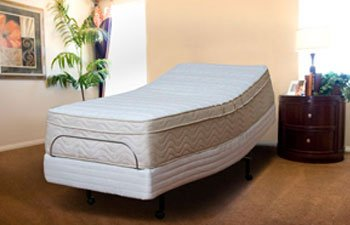 8lb HD Memory Foam Mattress Bliss Queen Size, S-Cape Adjustable Bed by Leggett & Platt