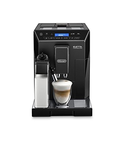 DeLonghi ECAM44660 ELETTA CAPPUCCINO Super Automatic Espresso Machine with Lattecrema System, Black (Delonghi Retro Toaster Oven compare prices)