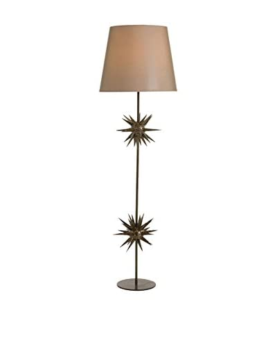 Arteriors Home Holt Floor Lamp, Brown